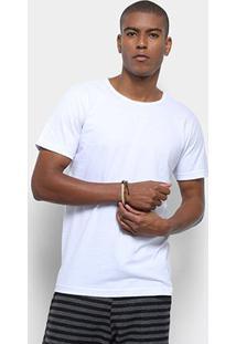 Camiseta Redley New Basic Masculina - Masculino-Branco