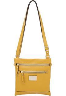 Bolsa Smartbag Trasnversal - Feminino-Amarelo