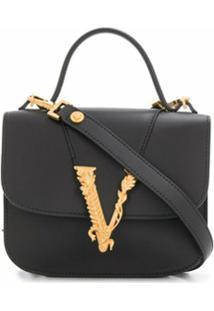 Versace Bolsa Vitrus - Preto