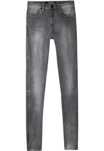 c65897536 ... Calça John John High Skinny Long Campala Jeans Preto Feminina (Jeans  Black Claro, 34