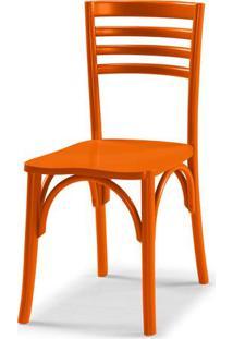 Cadeira Samara Cor Laranja Vivo - 31362 - Sun House