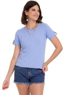 Blusa Manola T-Shirt Azul Bebê