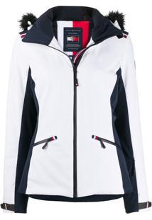 Tommy Hilfiger Jaqueta Ski X Rossignol Matelassê - Branco