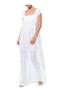 Camisola Renda-Branco