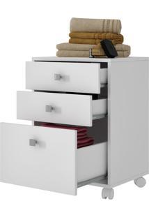 Gaveteiro Office Dh 19 Branco - Brv Móveis