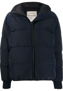 Zadig&Voltaire Hooded Puffer Jacket - Azul