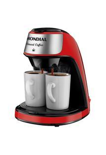 Cafeteira Elétrica Mondial Smart Coffe C-42-2X-Ri Vermelho 110V