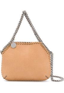 Stella Mccartney Mini Falabella Shoulder Bag - Neutro