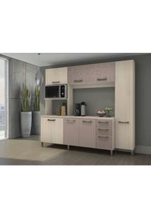 Cozinha Compacta Kappesberg E780 Amendoa Fosco Se