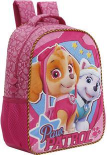 Mochila Escolar Patrulha Canina Girl Team