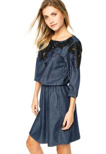 1c2d1158952d Vestido Bordado Jeans feminino | Shoelover