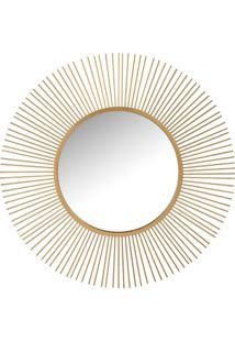 Espelho Udecor Redondo Sol - 110X5X110Cm