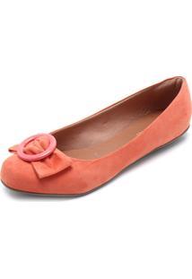 Sapatilha Dafiti Shoes Argola Coral