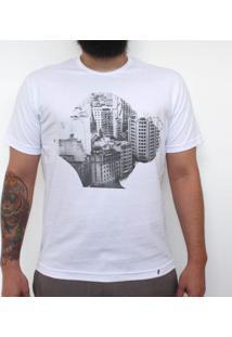 Old São Paulo - Camiseta Clássica Masculina