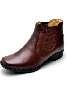 Bota Clube Do Sapato De Franca Premium Camp Chocolate