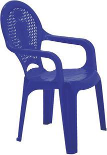 Cadeira Catty- Azul Escuro- 55,5X35X36,5Cm- Tramtramontina