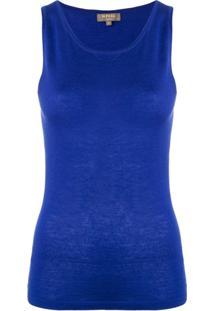 N.Peal Blusa De Cashmere - Azul