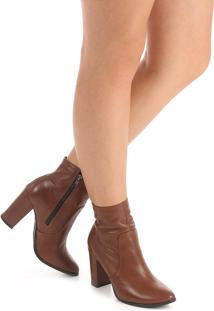 Ankle Boots Feminina Desmond - Marrom