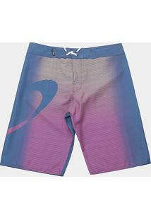 Bermuda Oakley Faded Stripes Boardshorts Masculina - Masculino