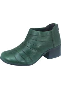 Bota S2 Shoes Cano Curto Verde Bosque