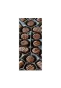 Adesivo Decorativo De Porta - Chocolate - Bombons - 313Cnpt Auto Colante