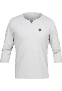 Camiseta Mormaii Proteção Solar Dry Comfort - Masculino-Bege