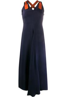 Paul Smith Vestido Godê - Azul