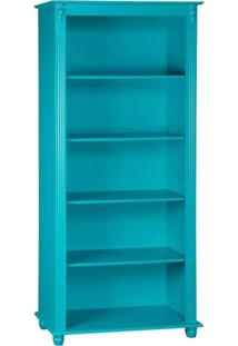 Estante Aberta 4 Prateleiras - Azul - Tommy Design