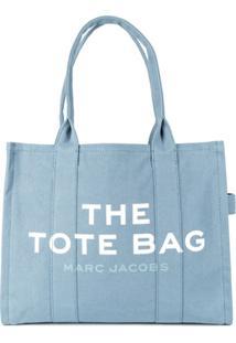 Marc Jacobs Bolsa Tote De Viagem - Azul