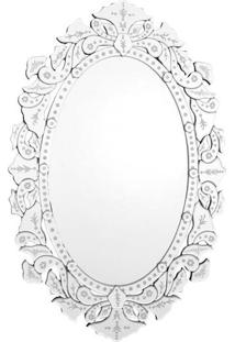 Espelho Veneziano Oval 110X75Cm