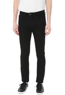 Calça Jeans Calvin Klein Jeans Skinny Color Preta