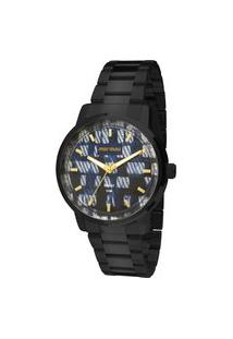 Relógio Mormaii Analógico Maui Mo2036Hv4A Preto