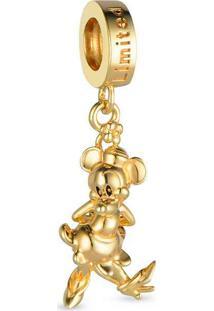 Pingente Life Mickey 90 Anos Minnie Vintage Gold