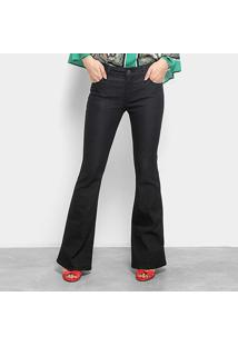 ... Calça Flare Ellus Cintura Média Feminina - Feminino-Jeans c8b76814bc0