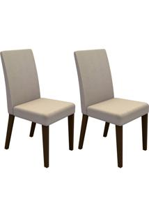 Kit Cadeira 4128 Rustic E Saara Madesa
