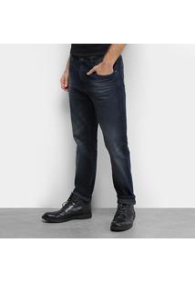 Calça Jeans Slim Ellus 2Nd Floor Masculina - Masculino-Azul Escuro
