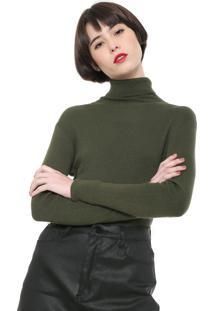 Suéter Ellus Tricot Basic Verde
