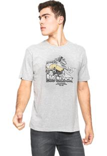Camiseta Rusty Biglock Cinza