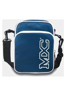 Shoulder Bag Mxc Brasil Mini Bolsa Lateral Ombro Necessaire Transversal Azul