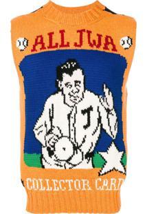 Jw Anderson Regata Com Estampa 'All Jwa' - Amarelo
