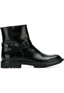 Church'S Ankle Boot 'Ashlyn' De Couro - Preto