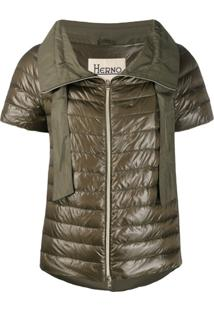 Herno Padded Down Jacket - Verde