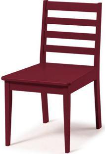 Cadeira Imperial Cor Vinho - 32513 - Sun House