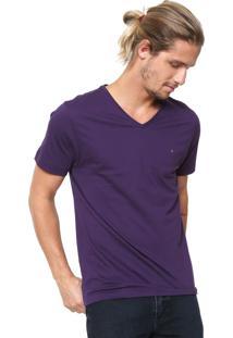 Camiseta Aramis Básica Roxa