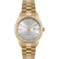 dd72417e215d4 Relógio Technos Masculino Riviera Dourado 2350Ad 4X Off Premium