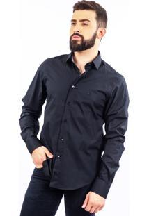Camisa Lupim Slim Fit Preta
