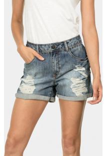 Bermuda Boyfriend Venice Tachas Jeans - Lez A Lez
