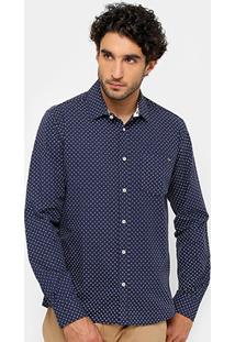 Camisa Triton Bolso Tricoline Masculina - Masculino