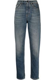 Saint Laurent Slim-Fit Jeans - Azul