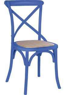 Cadeira Katrina Azul Rivatti